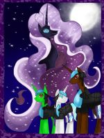 .: Nightmare Rarity's Army :. by ASinglePetal