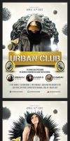 Urban Club Flyer by saltshaker911