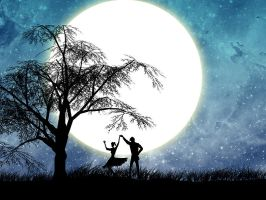 Dancing in the moonlight by ghostnineone