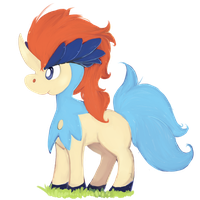 Keldeo by ponchiz