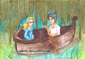 Percabeth: The Little Mermaid 'Kiss the girl' by Suekitty