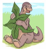 Littlefoot by Greykitty