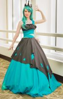 Sakura-con 2014 Queen Chrysalis by Angel-Platypus-Photo