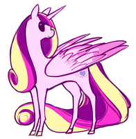 Princess Cadence by shiro