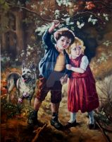 Hansel and Gretel by MikeleArapi