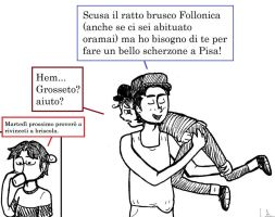 AT - poor Follonica! by Lealbatra