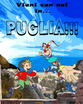 Coming to Puglia by Drawlight
