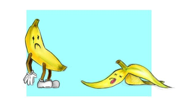 Jerry The Banana for Nico-Mac by 1kornygrrl