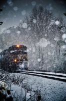 Snow train by PSRADICH