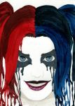 Sketch Card - Harley Quinn by Indy-Lytle