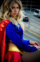 Supergirl Overlooking the City by EmeraldCoastCosplay