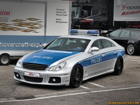 Typical German Police Car by GERMANEXOTICS