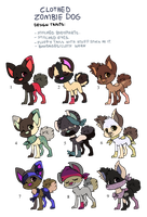 Free Zombie Dawg Adopts - Adopted by Feralx1
