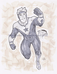 Booster Gold by DeanGrayson