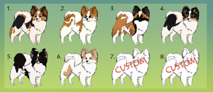 Papillon Adoptables  :TAKEN: by Kultapossu