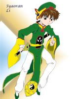 Li Syaoran: Ready for action by TheAstrica