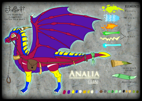 Aralia The Dragoness by PancakeShiners