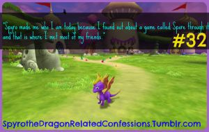 ( Spyro Confessions ) #32 From Spyro to Spore by KrazyKari