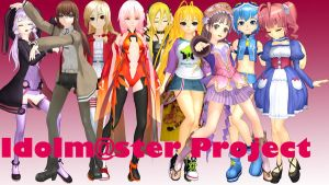 [MMD] Idolm@ster Project ~Video~ by MrMario31095