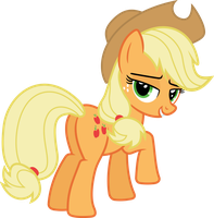 I Think Applejack Likes You by PsychicWalnut