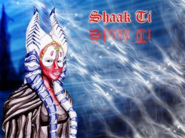 Shaak Ti - wallpaper by N-o-X-i-S18