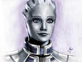 Liara T'Soni by AndPCH