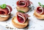 Prosciutto and Basil Crostinis. by FrancoPetrini