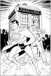 Superman and The Doctor by Inkermoy