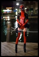 Lady Deadpool by theARTofCARNAGE
