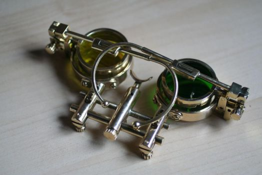 Steampunk spectacles 2.7 by Gogglerman