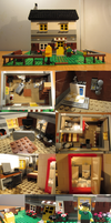 LEGO Country House by BurningAshDragon