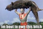 Funny Ultraman Caption by fare67t