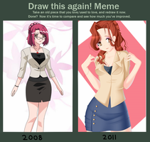 now and then . . . by Tori001