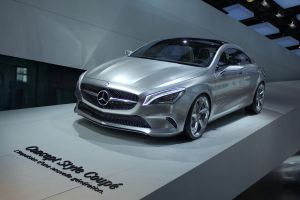 Paris 2012: Mercedes Concept Style Coupe by randomlurker