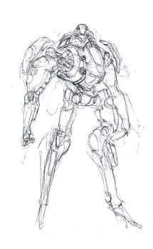 Misc Mech Sketches 2 by dee-virus