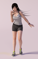 Kokoro 3DS Render 14 by x2gon