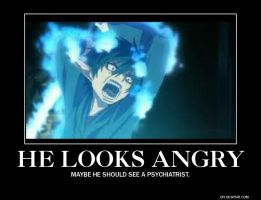 Rin - Ao No Exorcist - Demotivational by yahoolizard