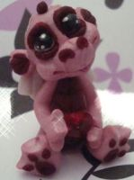 polymer clay dragon lacie by crazylittlecritters