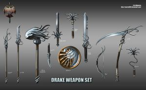 Drake weapon set by Emortal982