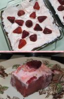 Gluten-Free Strawberry Lemonade Cake by Windthin