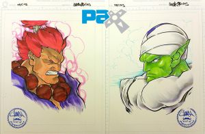 PAX 2015 - 27 - Akuma VS Piccolo by theCHAMBA