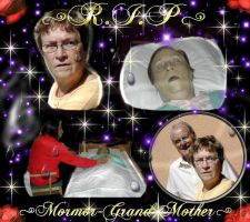 R.I.P-Grand Mother by Umeko
