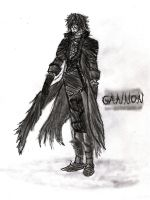 Gannon Concept Sketch by WildThunder