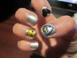 Kingdom Hearts Nail Art by takory