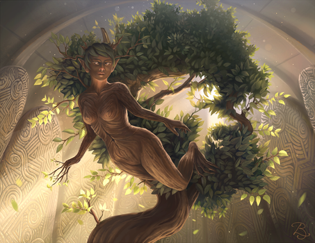 Lund ~ Goddess of Nature by Selven7