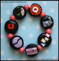 Custom Musicals bracelet V by citruscouture