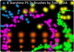 Photoshop Brush - Starshine by Tivil