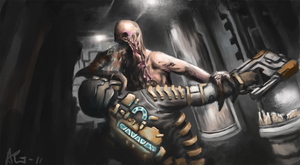 Dead Space 2 - Fall of Isaac by Adzerak