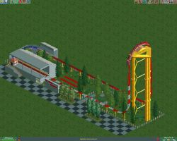 """Top Thrill Dragster """"RCT2"""" by Welsh-Fury"""