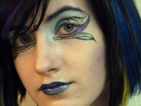 Color Block Makeup Contest by Divulged